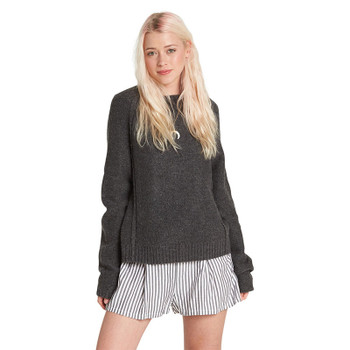 Element Comfy Sweater - Char Marle