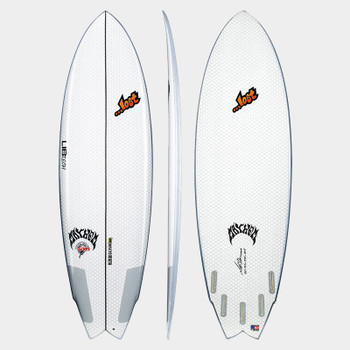 "Lib Tech X Lost Round Nose Fish Redux 5'6"" Surfboard"
