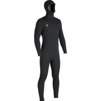 Vissla 7 Seas 5/4/3 Hooded Full Suit - Black Jade