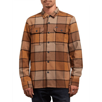 Volcom Randower Long Sleeve - Mud