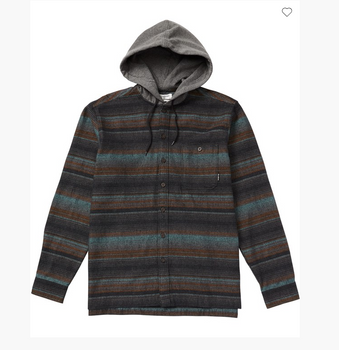 Billabong Baja Flannel - Black