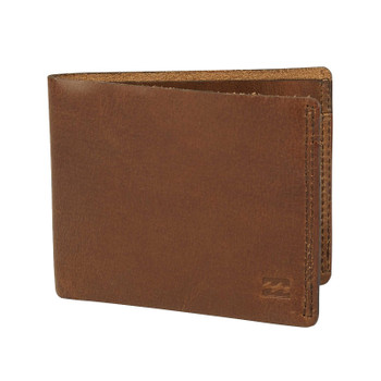 Billabong All Day Leather Wallet - Brown