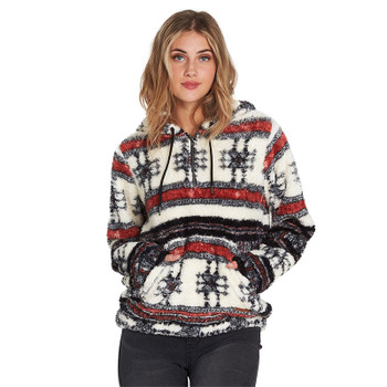 Billabong Cozy For Keeps Fleece Hoodie - Mutli