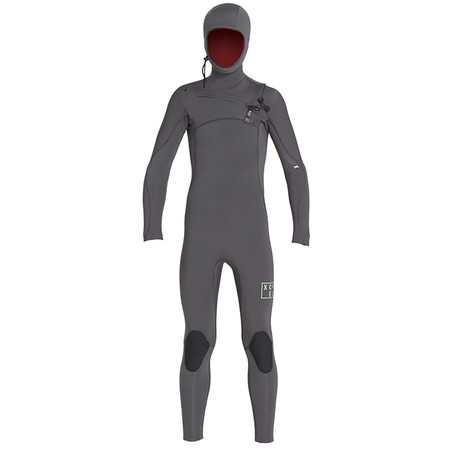 Xcel Youth Comp X Hooded 4.5/3.5 Wetsuit - Jet Black