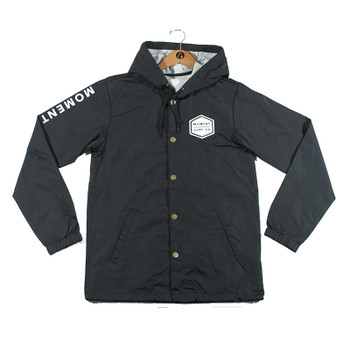 Moment Rain Jacket - Black