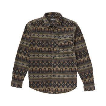 Billabong Furnace Polar Fleece Flannel - Raven