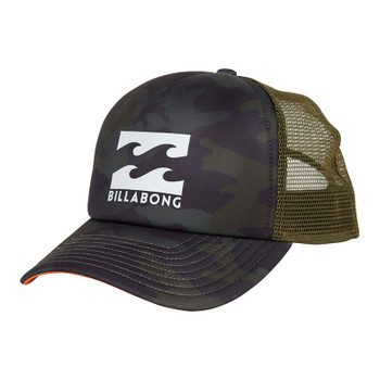 Billabong Podium Trucker Hat - Military Camo