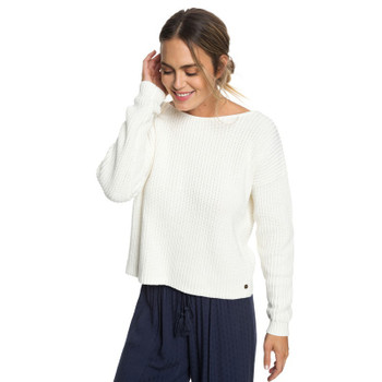 Roxy Bamboo Bridge Sweater - Marshmallow