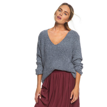 Roxy Padang Paradise Sweater - Charcoal Heather