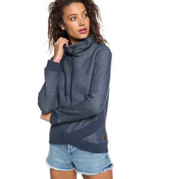 Roxy Seasons Change Funnel Neck Hoodie - Dress Blues