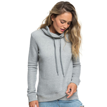 Roxy Seasons Change Funnel Neck Hoodie - Heritage Heather