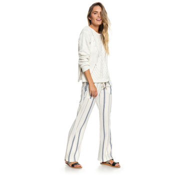 Roxy Oceanside Pant - Marshmallow