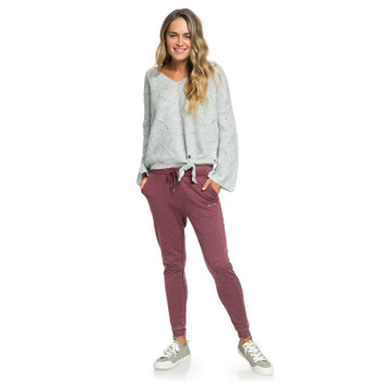 Roxy Tides Turning B Joggers - Oxblood Red