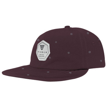 Vissla Lay Day Hat - Burgundy