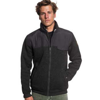 Quiksilver Keller Mix Full Zip - Tarmac