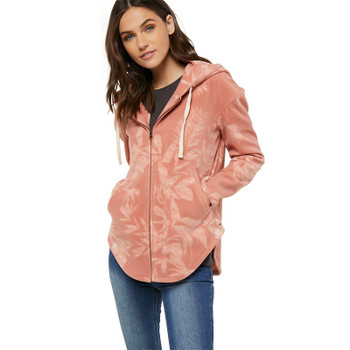 O'Neill Carter Superfleece Zip Up Hoodie - Clay