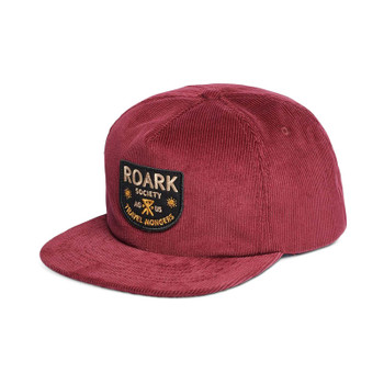 Roark Travel Mongers Hat - Burgundy