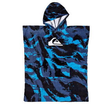 Quiksilver Youth Hoody Changing Towel - Navy Blazer
