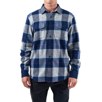 Rip Curl Shoreline Flannel - Navy