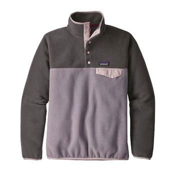Patagonia Women's Lightweight Synchilla Snap-T Pullover Fleece - Smokey Violet
