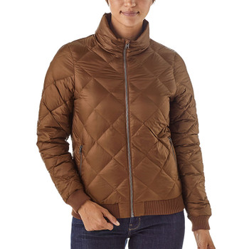 Patagonia Women's Prow Bomber Jacket - Moccasin Brown - Front