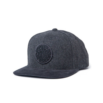 Rip Curl Wettie Heritage Snapback - Charcoal