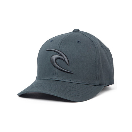 Rip Curl RC Icon Flexfit Hat - Charcoal