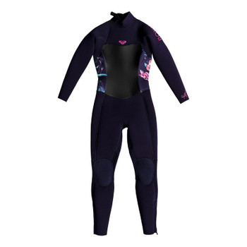 Roxy Girls Syncro 4/3 Back Zip Wetsuit - Blue Ribbon