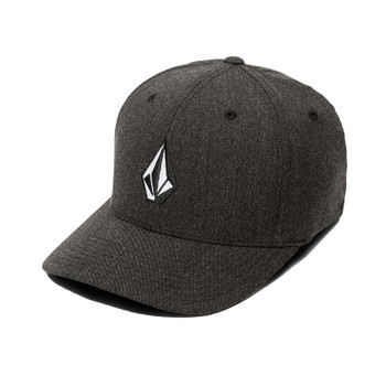 Volcom Full Stone Heather XFit Hat - Charcoal Heather
