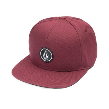 Volcom Quarter Twill Hat - Bordeaux Brown