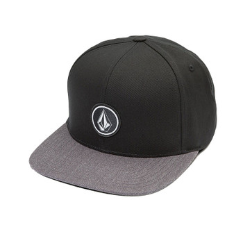 Volcom Quarter Twill Hat - Charcoal Heather
