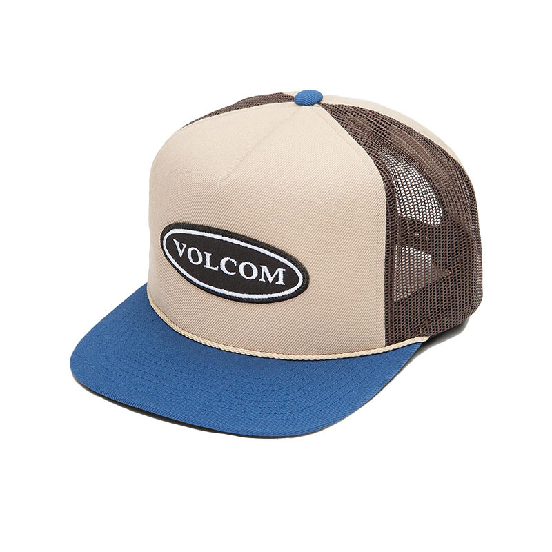 25164f8b04cab2 Volcom Logger Cheese Snapback Hat - Sand Brown - Back. See 1 more picture