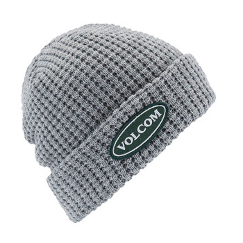 Volcom Hard Core In 94 Beanie - Heather Grey