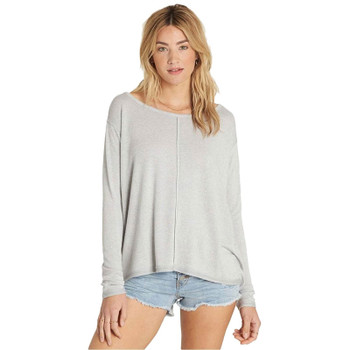 Billabong From Here Top - Ice Athletic Grey