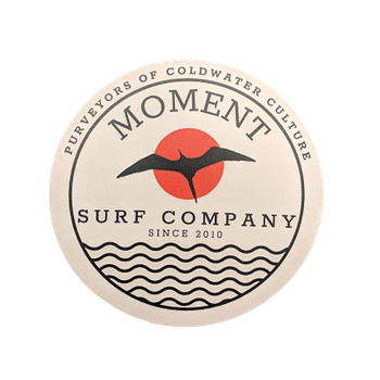 Moment Seabird Sun Sticker