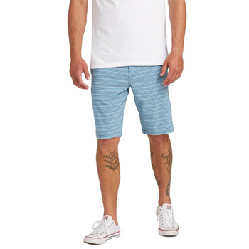 Volcom Frickin Surf N' Turf Static Mix Hybrid Shorts - Vintage Blue