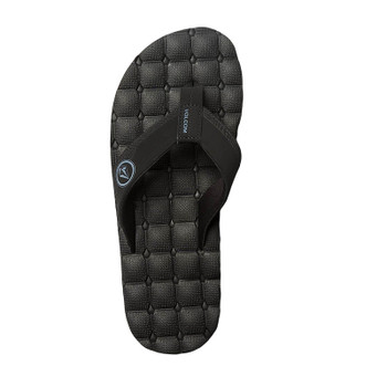 Volcom Recliner Sandal - Blue / Black - Top