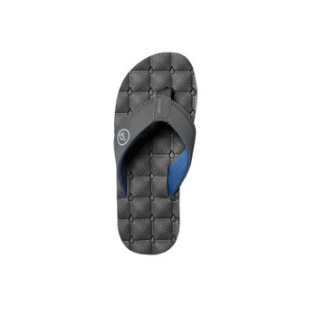 Volcom Recliner Big Boys Youth Sandal - Blue Combo - Top