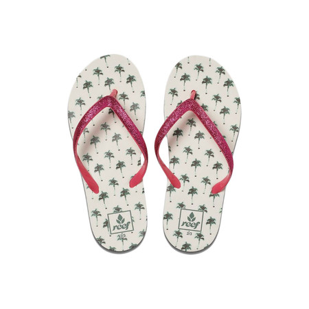Reef Little Stargazer Prints Sandal - Palm Trees