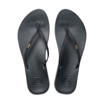 Reef Cushion Bounce Slim Sandal - Black