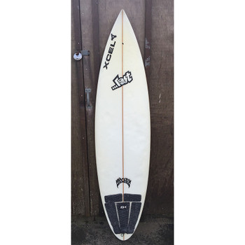 "Used Lost 6'2"" Step Up Quad Surfboard"