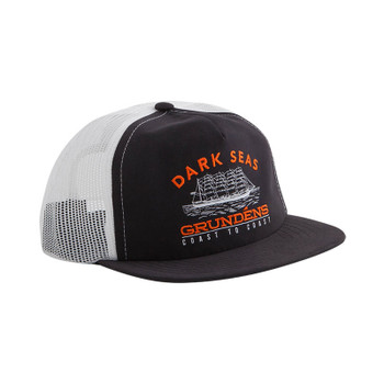 Dark Seas X Grundens Tall Ship Hat - Black