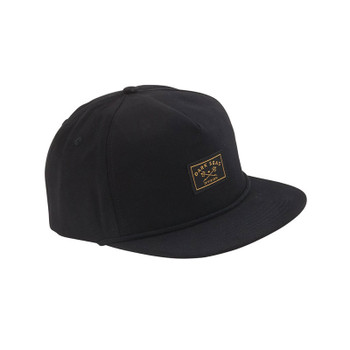 Dark Seas Freighter Hat - Black