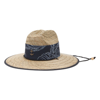 Dark Seas Bimini Hat - Natural