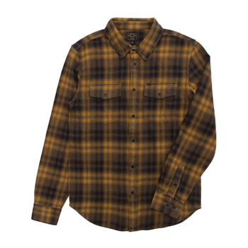 Dark Seas Helena Flannel - Army / Navy
