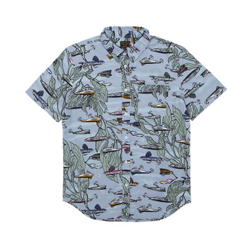 Dark Seas Stinson Woven Shirt - Light Blue