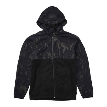 Billabong Boundary Multicam Zip Hoodie - Black Camo