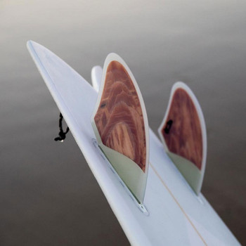 Pushfins (A) Keel Fin Set  - Clear White