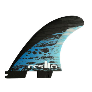 FCS II MB PC Carbon Large Tri-Quad Fin Set