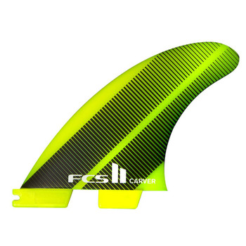 FCS II Carver Neo Glass Tri-Quad Fin Set - Large
